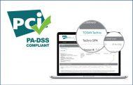 سوییچ تکنوسیپا توسنتکنو گواهینامه PCI PA-DSS گرفت